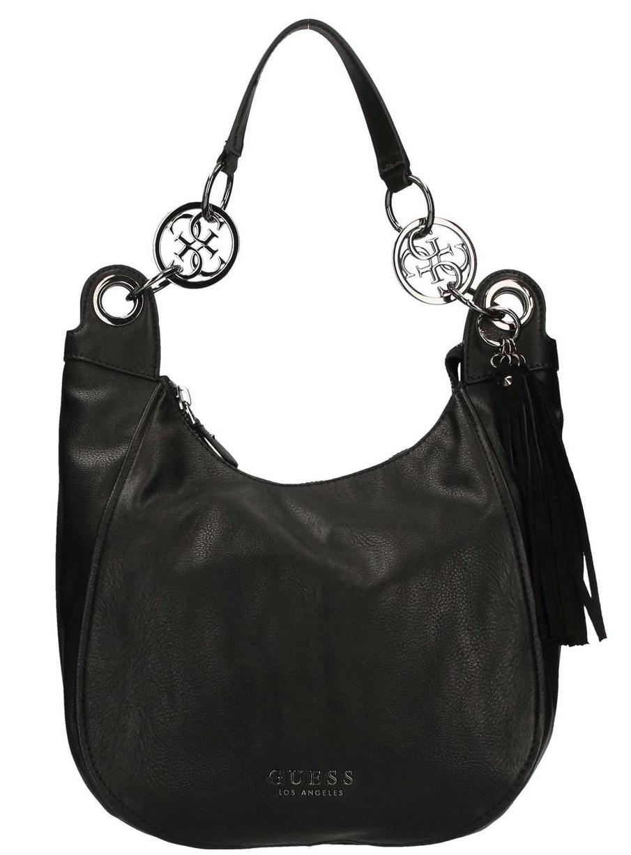 1113fa584 ¡compra Outlet Alana Guess Bolso Precios Negro Hombro De A X78qwdS8